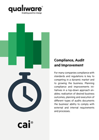 Compliance, Audit and Improvement