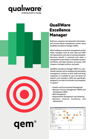 QualiWare Excellence Manager